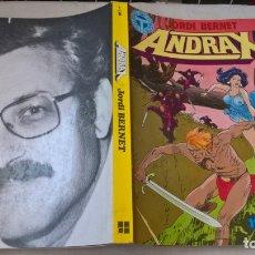 Comics: COMICS BERNET : ANDRAX Nº 1-6 Nº 7-12 2 RETAPADOS COLECCION COMPLETA. Lote 170528868