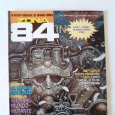 Comics : ZONA 84 Nº 84 - CON EXTENSO PORTFOLIO DE FRANK FRAZETTA. Lote 171587158