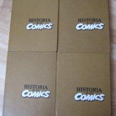 Cómics: HISTORIA DE LOS COMICS - 4 TOMOS – TOUTAIN. Lote 171673944