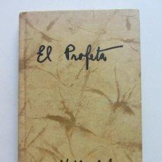 Cómics: EL PROFETA. GIBRAN KHALIL CS182. Lote 171781664