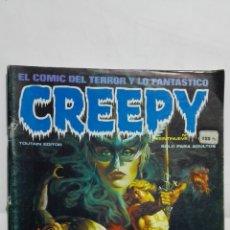 Cómics: CREEPY EL COMIC DEL TERROR Y LO FANTASTICO, Nº 29, AÑO 1981. Lote 171804219