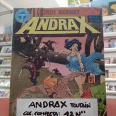 Cómics: ANDRAX. COLECCIÓN COMPLETA.TOUTAIN. Lote 172062072