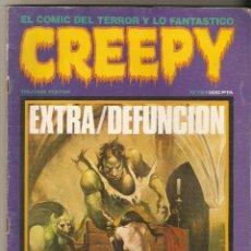 Cómics: CREEPY - Nº 79 - EXTRA DEFUNCION - FANTASIA Y TERROR - TOUTAIN EDITOR -. Lote 172156593