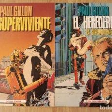 Cómics: LA SUPERVIVENTE TOMOS 1 Y 2 (EL HEREDERO) DE PAUL GILLON COMPLETA TOUTAIN EDITOR. Lote 172341104