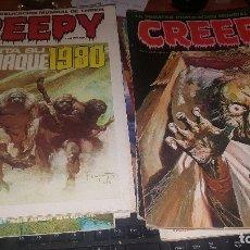 Cómics: CREEPY, N° 3-9-11-20-21-22-23-24-25-26-30-37-39, 41, 49, 60 Y ALMANAQUES DE 1980 Y 1981,. Lote 172507575