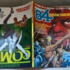Cómics: COMICS: ZONA 84 ESPECIAL CONCURSO. EDICION CONJUNTA CON COMIX INTERNACIONAL. Lote 172748465
