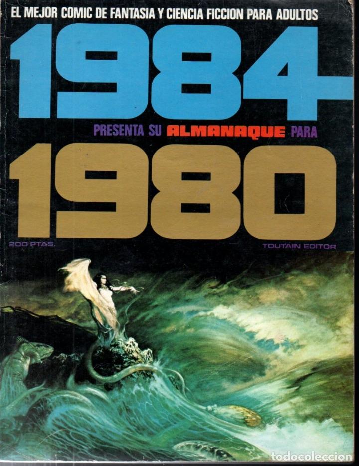 Cómics: TRES ALMANAQUES 1984 : 1980, 1983 Y 1984 - Foto 2 - 172765042