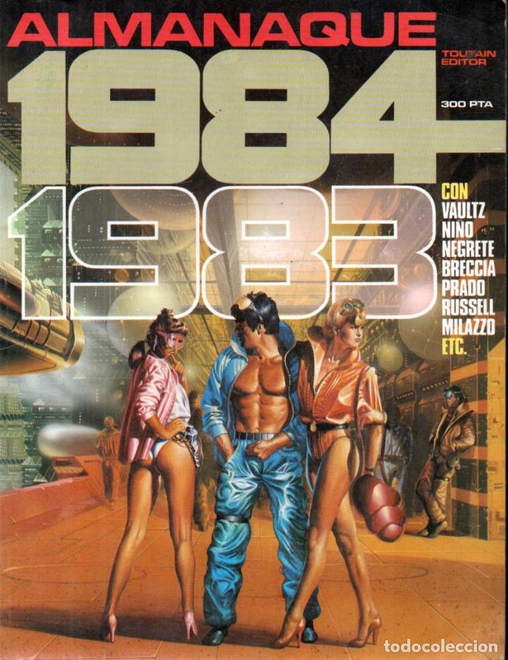 Cómics: TRES ALMANAQUES 1984 : 1980, 1983 Y 1984 - Foto 3 - 172765042