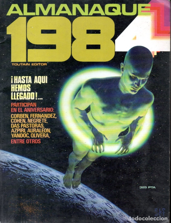 Cómics: TRES ALMANAQUES 1984 : 1980, 1983 Y 1984 - Foto 4 - 172765042