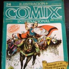 Cómics: ILUSTRACION + COMIX INTERNACIONAL. Nº 24.. Lote 173766575