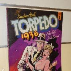 Cómics: TORPEDO 1936 TOMO 1 SANCHEZ ABULI, ALEX TOTH Y JORDI BERNET - TOUTAIN - OFERTA. Lote 173988779