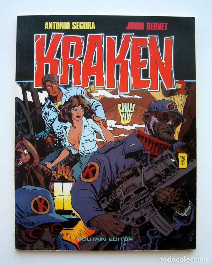 KRAKEN, POR ANTONIO SEGURA Y JORDI BERNET. TOUTAIN. 1987 (Tebeos y Comics - Toutain - Álbumes)