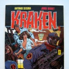 Cómics: KRAKEN, POR ANTONIO SEGURA Y JORDI BERNET. TOUTAIN. 1987. Lote 174371324