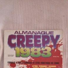 Cómics: CREEPY. ALMANAQUE 1983. Lote 175032133