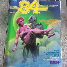Cómics: ZONA 84 N.º 6 TOUTAIN 1984 TIENE LAS PASTAS SUELTAS. Lote 175157342