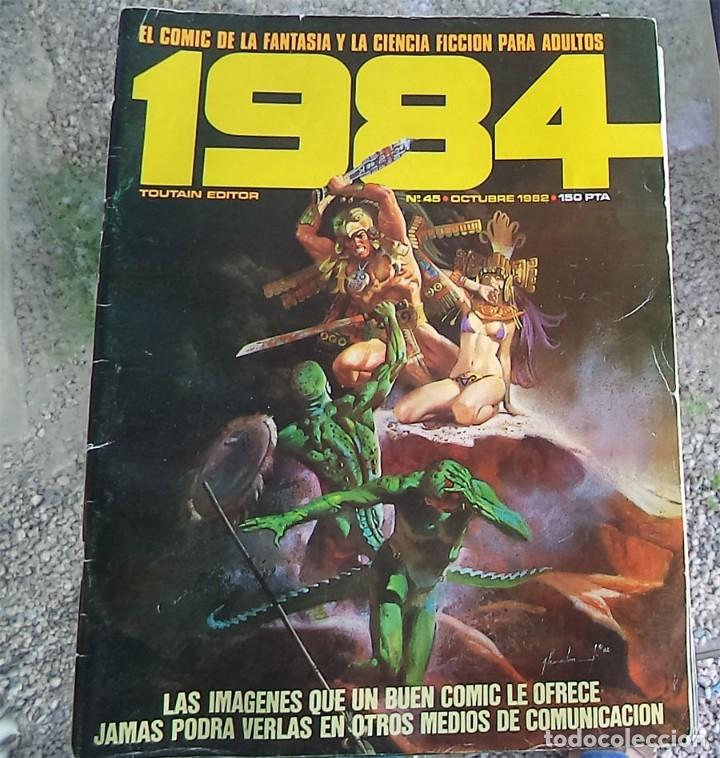 COMIC 1984 Nº 45 TOUTAIN 1982 (Tebeos y Comics - Toutain - 1984)