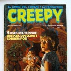 Cómics: CREEPY NÚMERO 61. Lote 175908285
