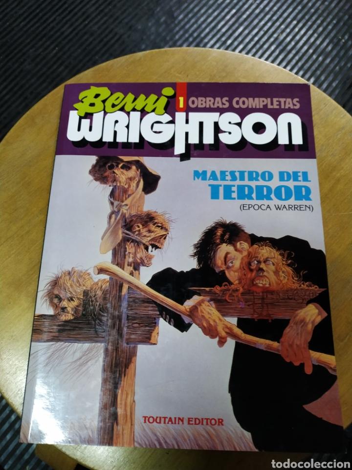 BERNI WRIGHTSON OBRAS COMPLETAS 1 (TOUTAIN) (Tebeos y Comics - Toutain - Obras Completas)
