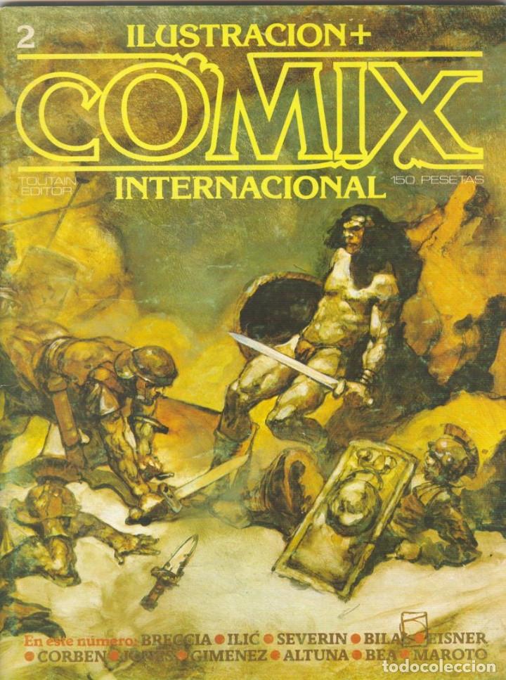 Cómics: Comix Internacional. Números del 1 al 12 + poster gigante (68 X 90) Homenaje al comic USA. 1980-81 - Foto 2 - 176265364