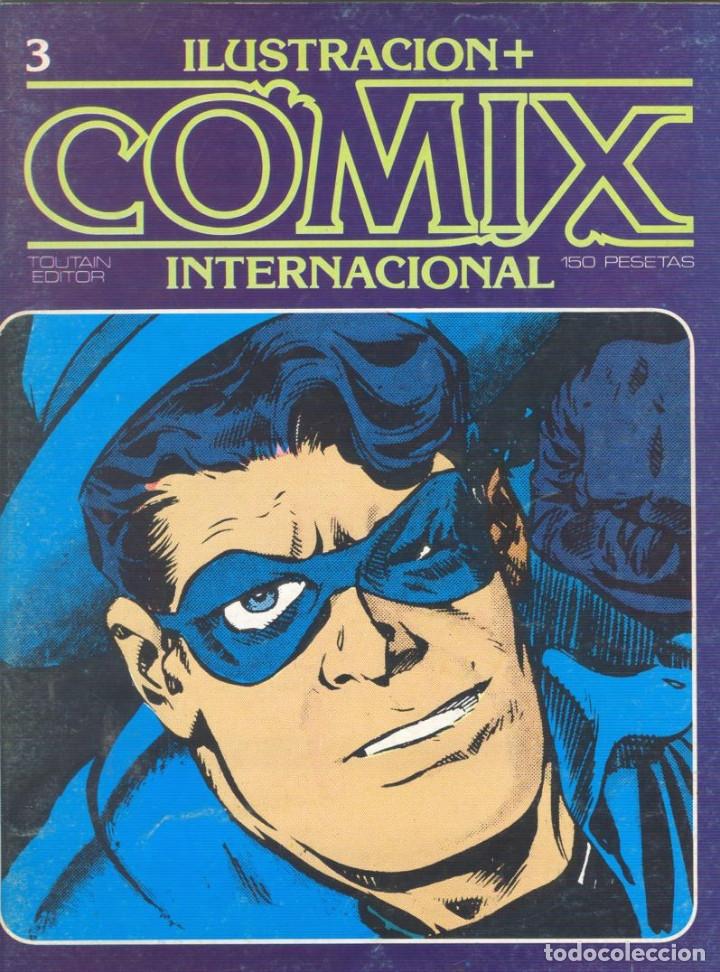 Cómics: Comix Internacional. Números del 1 al 12 + poster gigante (68 X 90) Homenaje al comic USA. 1980-81 - Foto 3 - 176265364
