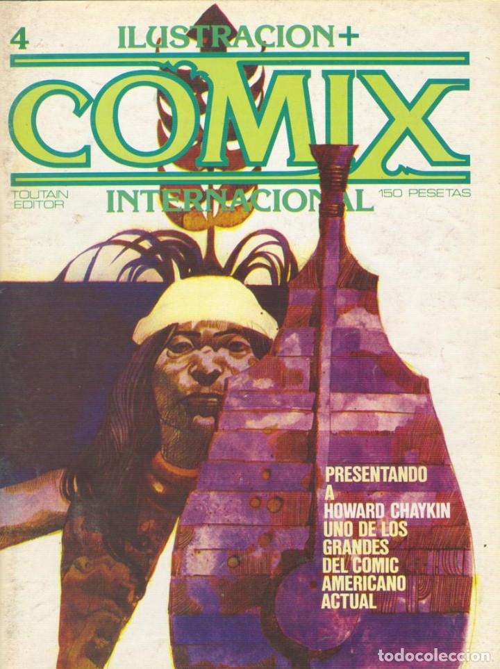 Cómics: Comix Internacional. Números del 1 al 12 + poster gigante (68 X 90) Homenaje al comic USA. 1980-81 - Foto 4 - 176265364