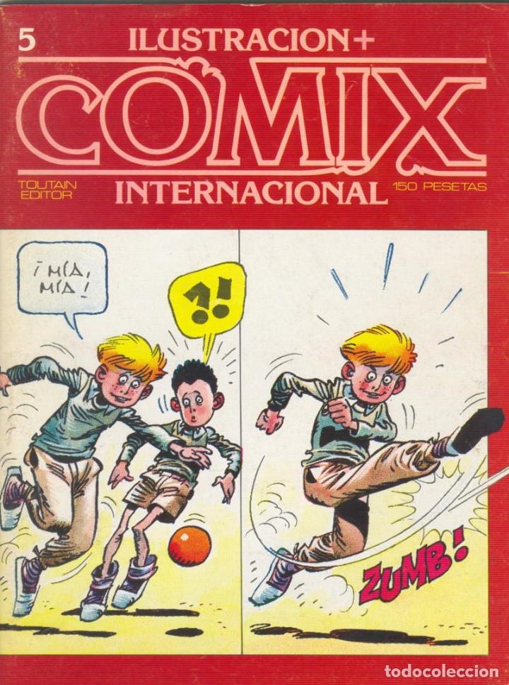 Cómics: Comix Internacional. Números del 1 al 12 + poster gigante (68 X 90) Homenaje al comic USA. 1980-81 - Foto 5 - 176265364