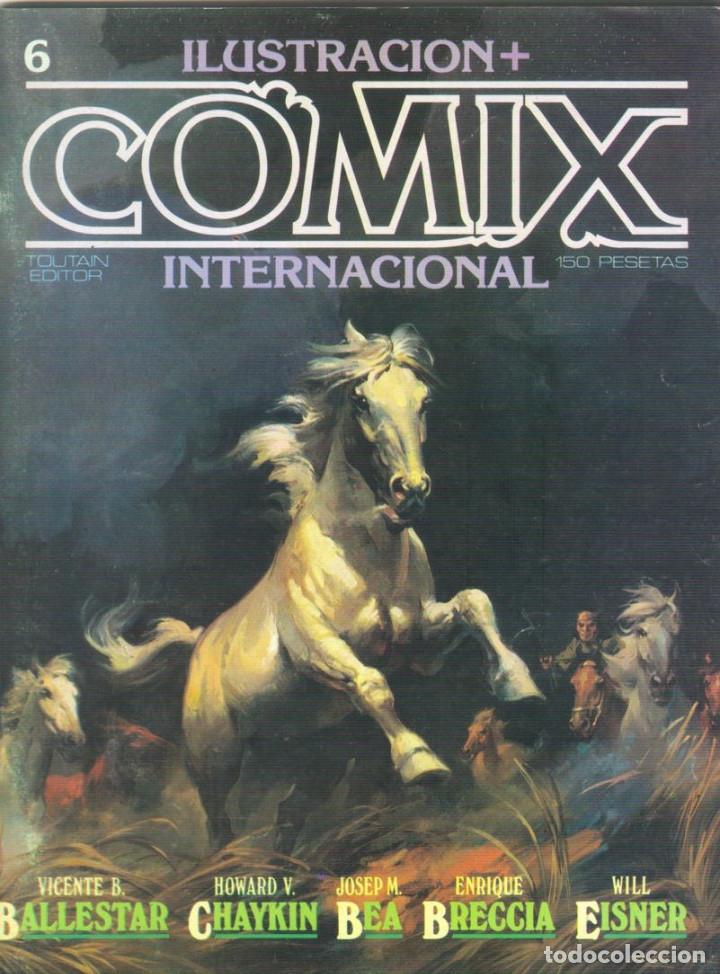 Cómics: Comix Internacional. Números del 1 al 12 + poster gigante (68 X 90) Homenaje al comic USA. 1980-81 - Foto 6 - 176265364