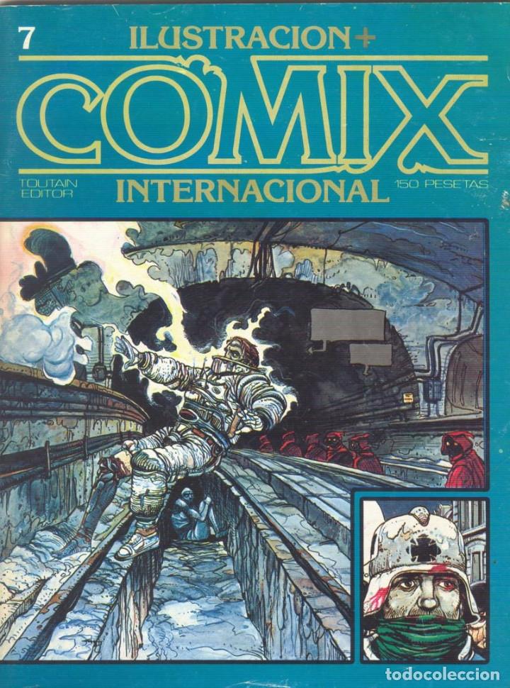 Cómics: Comix Internacional. Números del 1 al 12 + poster gigante (68 X 90) Homenaje al comic USA. 1980-81 - Foto 7 - 176265364