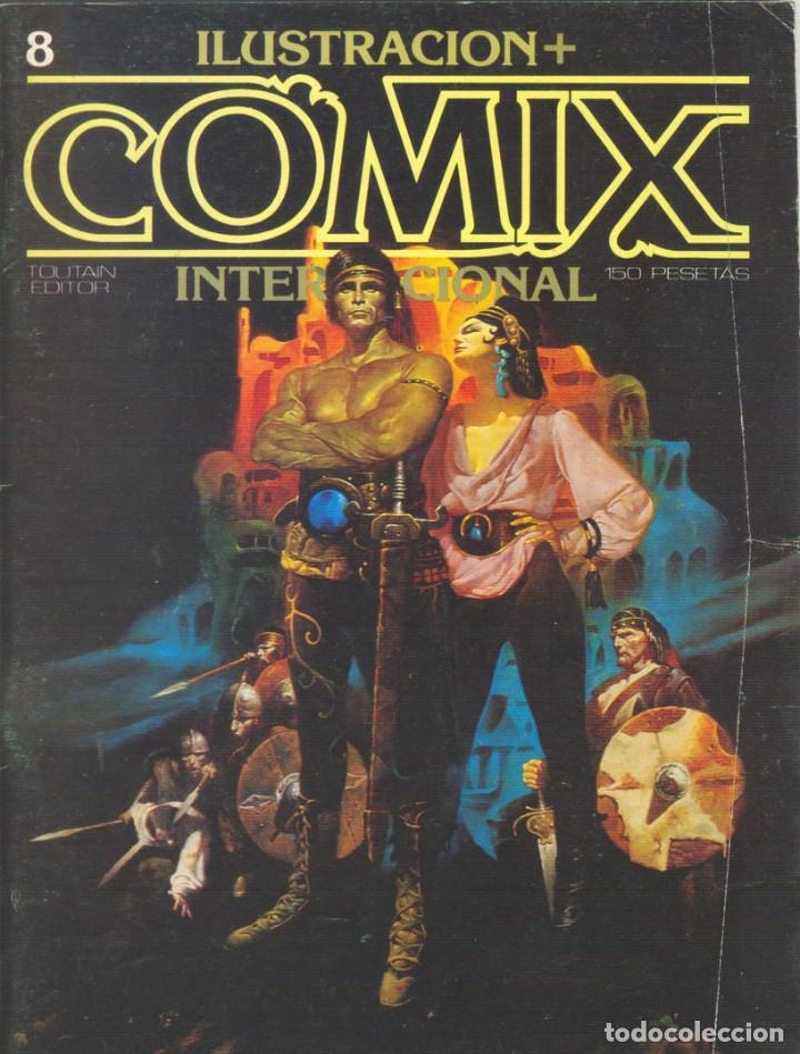 Cómics: Comix Internacional. Números del 1 al 12 + poster gigante (68 X 90) Homenaje al comic USA. 1980-81 - Foto 8 - 176265364