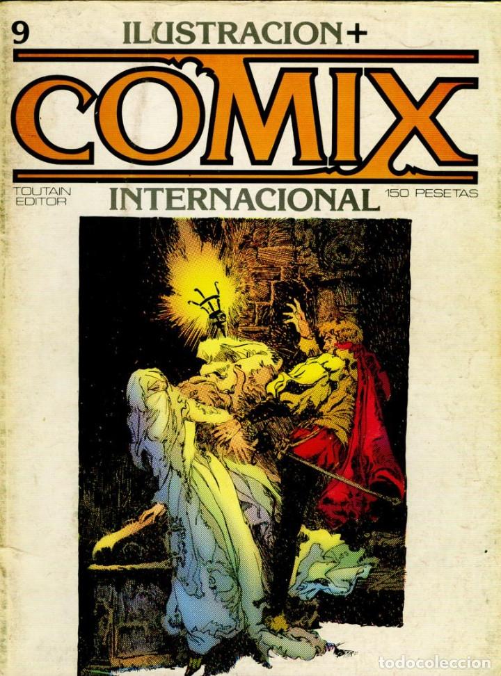 Cómics: Comix Internacional. Números del 1 al 12 + poster gigante (68 X 90) Homenaje al comic USA. 1980-81 - Foto 9 - 176265364