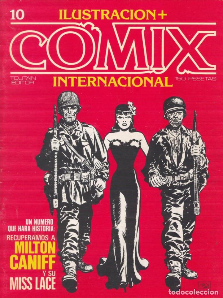 Cómics: Comix Internacional. Números del 1 al 12 + poster gigante (68 X 90) Homenaje al comic USA. 1980-81 - Foto 10 - 176265364