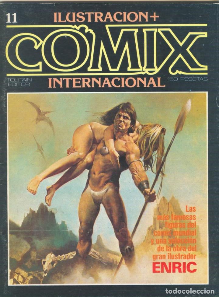 Cómics: Comix Internacional. Números del 1 al 12 + poster gigante (68 X 90) Homenaje al comic USA. 1980-81 - Foto 11 - 176265364