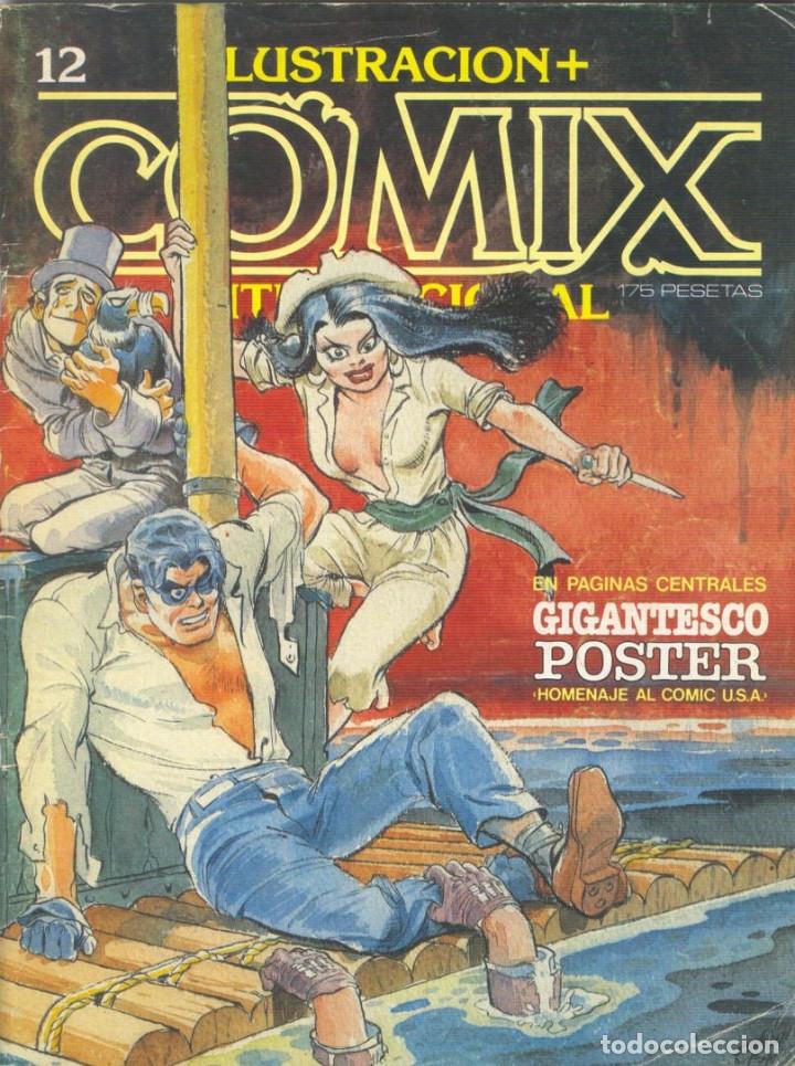 Cómics: Comix Internacional. Números del 1 al 12 + poster gigante (68 X 90) Homenaje al comic USA. 1980-81 - Foto 12 - 176265364