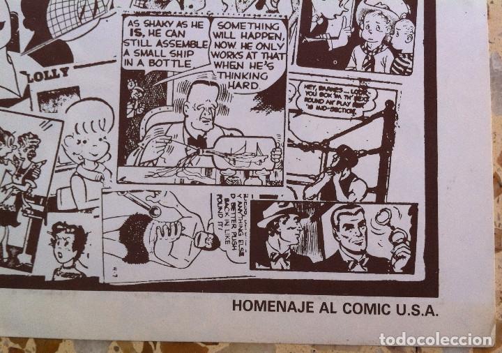 Cómics: Comix Internacional. Números del 1 al 12 + poster gigante (68 X 90) Homenaje al comic USA. 1980-81 - Foto 15 - 176265364