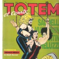 Cómics: TOTEM, EL COMIX. Nº 39. TOUTAIN EDITOR. (ST/A02). Lote 176339554