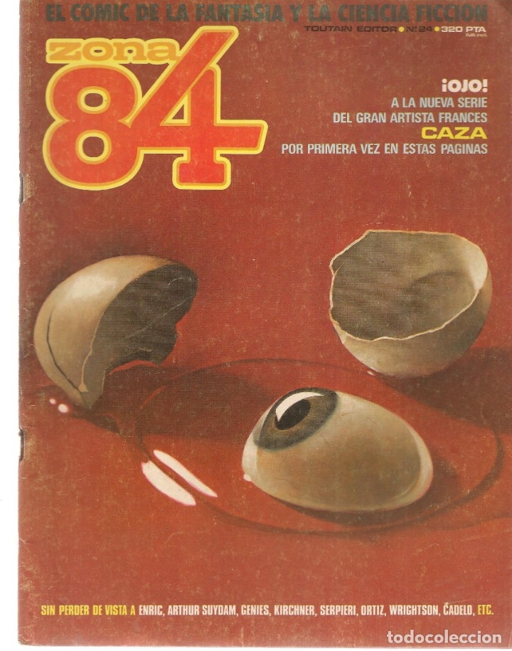 ZONA 84. Nº 24. TOUTAIN EDITOR. (ST/A02) (Tebeos y Comics - Toutain - Zona 84)