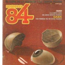 Comics : ZONA 84. Nº 24. TOUTAIN EDITOR. (ST/A02). Lote 176341879