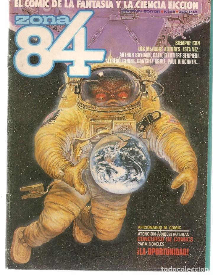 ZONA 84. Nº 25. TOUTAIN EDITOR. (ST/A02) (Tebeos y Comics - Toutain - Zona 84)