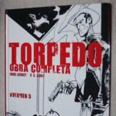 Comics: TORPEDO OBRA COMPLETA VOL. 5. (DE JORDI BERNET & E. SÁNCHEZ ABULÍ. : (INTEGRAL TAPA DURA). Lote 176975440