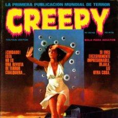 Cómics: CREEPY. EL COMIC DEL TERROR Y LO FANTASTICO. Nº OCHO. 1979. RELATO DE RICHARD CORBEN.. Lote 177126653
