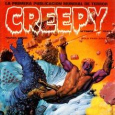 Cómics: CREEPY. EL COMIC DEL TERROR Y LO FANTASTICO. Nº TRECE. 1979. RELATO RICHARD CORBEN. Lote 177128012