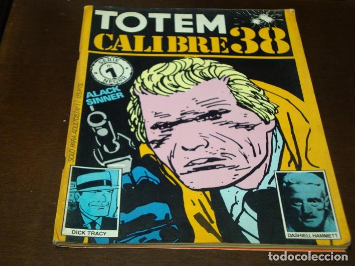 TOTEM CALIBRE 38 1 (Tebeos y Comics - Toutain - Otros)