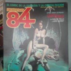Cómics: LOTE DE 8 REVISTAS ZONA 84 #. Lote 177377334