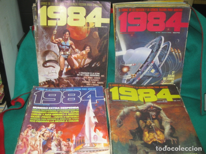 1984 . 31 NUMEROS : 9,11,15,18,21,22,23,25,28,28,29,30, 33,34,36, 37,38,39,40,43,47,48,49,50,55,57.. (Tebeos y Comics - Toutain - 1984)