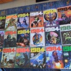 Cómics: 1984 NºS 1 2 3 4 6 7 10 11 12 17 18 Nº ESPECIAL 19 PARTICIPANTES. TOUTAIN. AÑOS 70.. Lote 177698538
