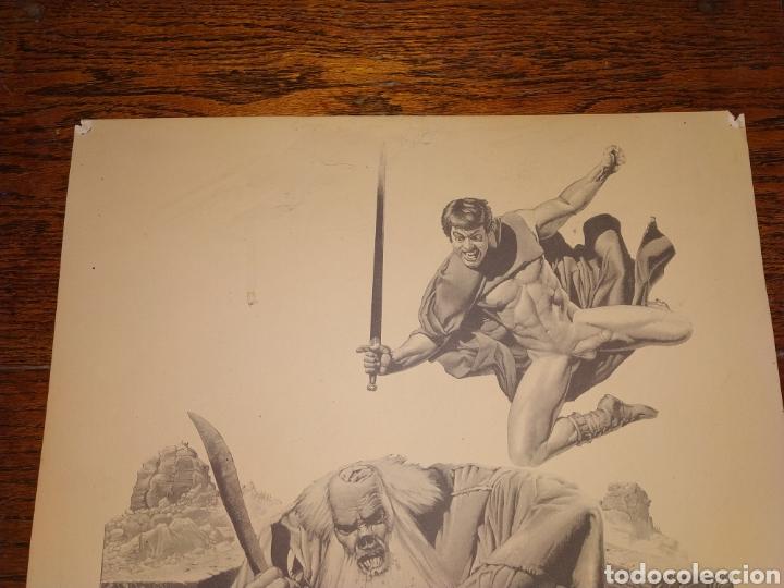 Cómics: LÁMINA RICHARD CORBEN 1979 PLATE SEVEN PILGOR DROPS IN AT DINNER TIME - Foto 4 - 177756672