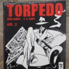 Cómics: TORPEDO 1936 - VOLUMEN 2 - JORDI BERNET BERNET - SANCHEZ ABULI - CATALAN - GLENAT / TOUTAIN. Lote 177866570