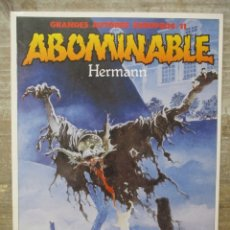Cómics: CREPPY - ABOMINABLE - HERMANN - AUTORES EUROPES - TOUTAIN . Lote 177880794