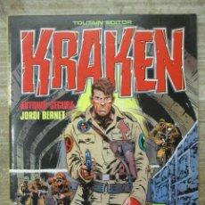 Cómics: KRAKEN - Nº 1 - SEGURA / BERNET - TOUTAIN . Lote 177894225