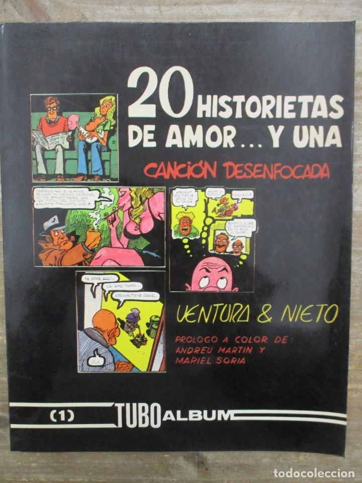 20 HISTORIETAS DE AMOR Y UNA CANCIÓN DESENFOCADA - VENTURA Y NIETO -MULTICOMIC (Tebeos y Comics - Toutain - Álbumes)